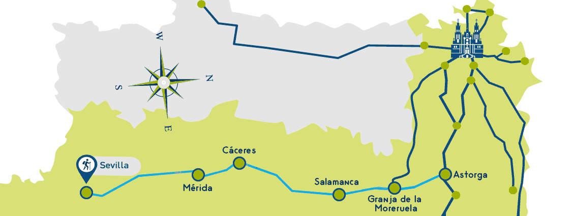 Silver Route Map