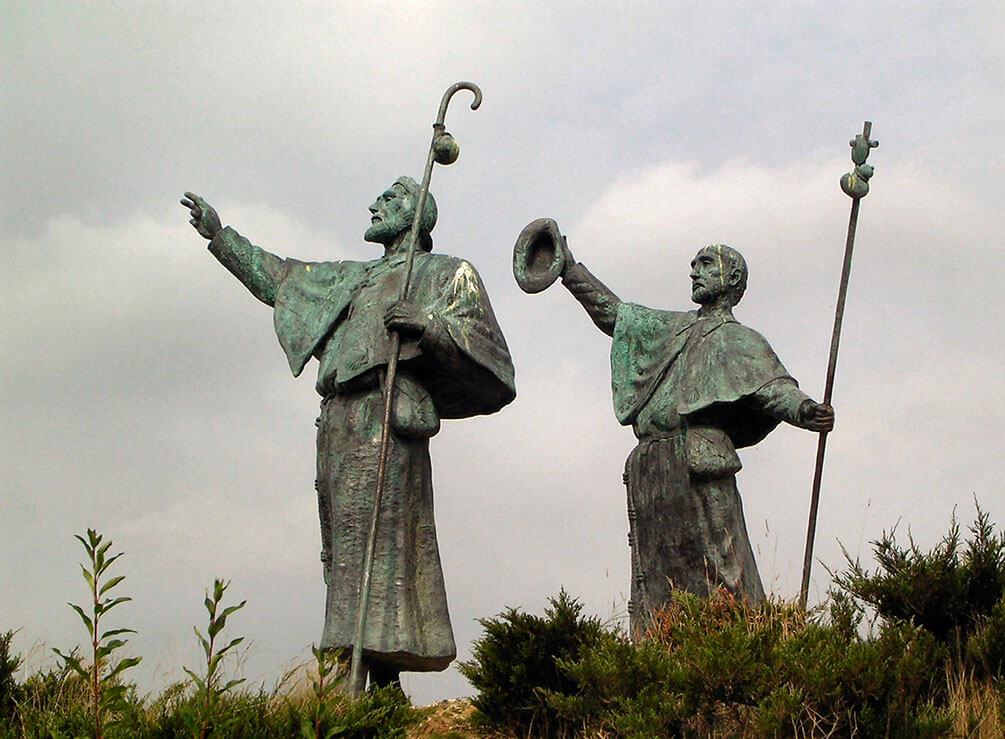 estatua primeros peregrinos