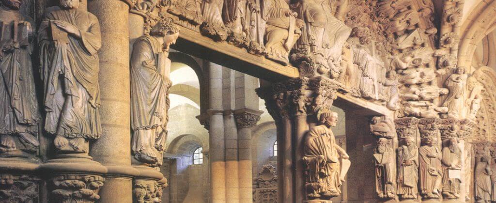 Pórtico de la Gloria, Catedral de Santiago