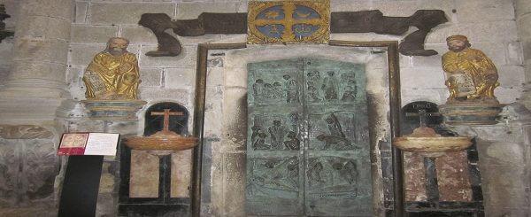 Puerta Santa de la Catedral de Santiago